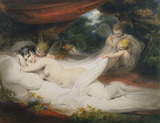 Nymph and Cupids