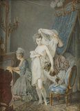 Le Lever, after Regnault