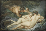 Pan and Syrinx, after Boucher