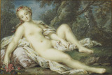 Venus resting in a forest