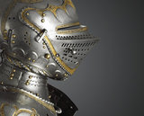 Detail from partial armour