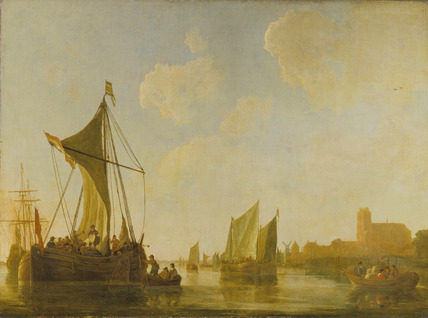 Passage Boat on the Maas