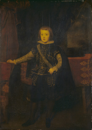 Prince Baltasar Carlos in Black and Silver