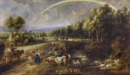 The Rainbow Landscape By Peter Paul Rubens At The Wallace