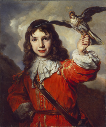 A Boy with a Falcon