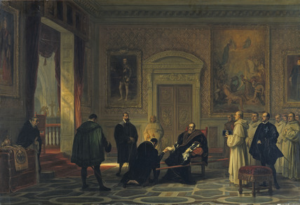 Charles V at the Monastery of San Jerónimo de Yuste