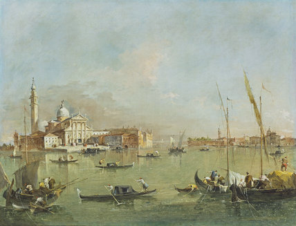 Venice: San Giorgio Maggiore with the Giudecca and the Zitelle