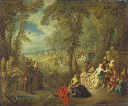 Fête in a Park
