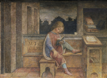 The Young Cicero Reading