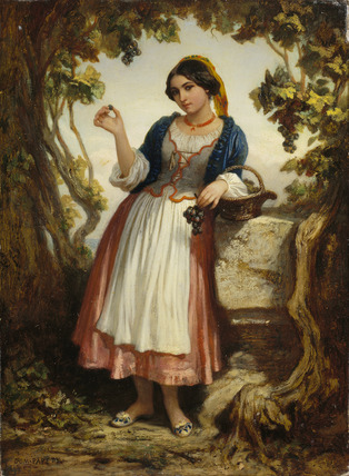 An Italian Peasant Girl
