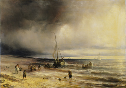 A Dutch Coast Scene