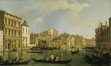 Venice: the Grand Canal from the Palazzo Flangini to San Marcuola