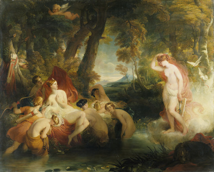 Venus in search of Cupid surprises Diana