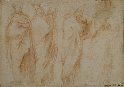 Study of Four Draped Figures