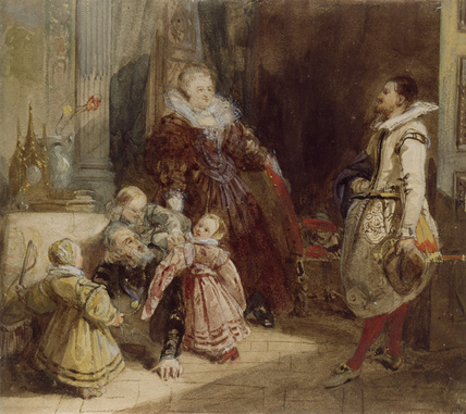 Henri IV and the Spanish Ambassador