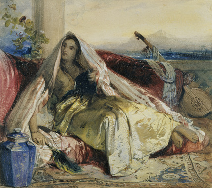 Odalisque in Yellow