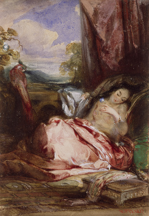 Odalisque in Red