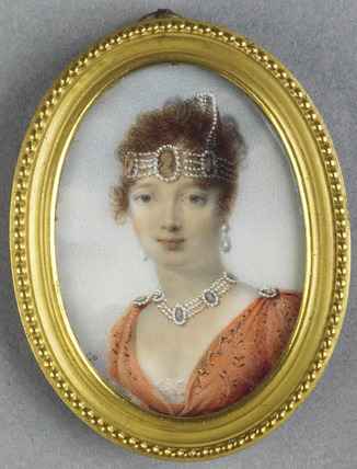 Caroline Bonaparte, Queen of Naples, after Isabey (?)