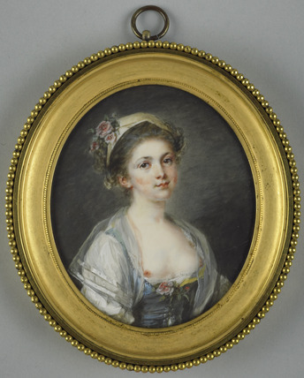 Adélaïde-Victorine Hall, the painter's daughter
