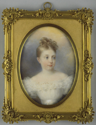 Louise-Marie-Therese de Bourbon-Artois, future Duchess of Parma
