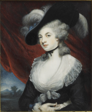 Mrs 'Perdita' Robinson, after Reynolds