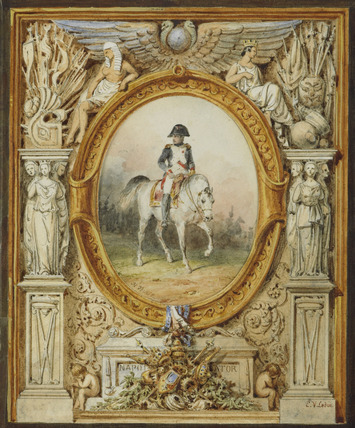 Napoleon I on horseback