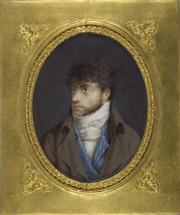 Louis-François Aubry, after a self-portrait