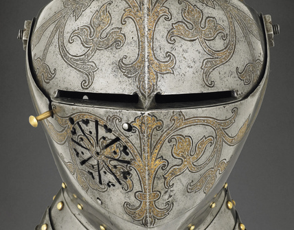 Detail from full armour