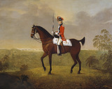 Cornet Thomas Boothby Parkyns, 15th Light Dragoons, 1780