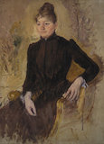 Portrait of a Woman, Mary Cassatt, 1881-1883