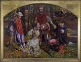 Two Gentlemen of Verona, Valentine Rescuing Sylvia From Proteus