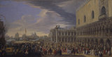 The Arrival of the Earl of Manchester in Venice