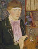 Self-portrait of Maxwell Ashby Armfield