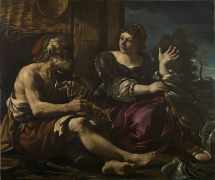 Erminia and the Shepherd
