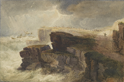 Storm off the Coast, Hastings