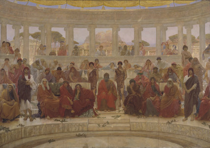 An Audience in Athens During Agamemnon by Aeschylus