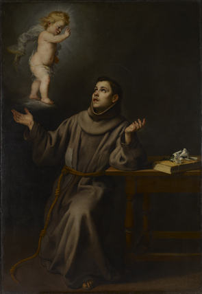 Vision of St Anthony of Padua