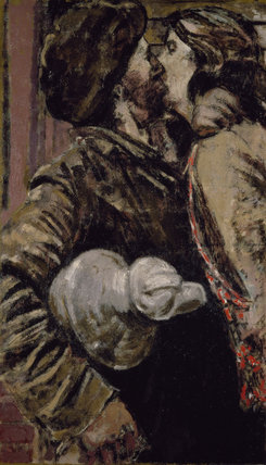 The Miner By Walter Richard Sickert At Birmingham Museums