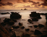 A view of The Brisons from Priest's Cove at Cape Cornwall