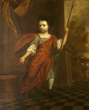WILLIAM BLATHWAYT (11) AS A CHILD, by Henry Tilson (1659-1695) oil on canvas, in the Drawing Room at Dyrham Park