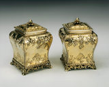 Tea Caddies by Daniel Smith and Robert Sharp, 1766 & 1767, at Anglesey Abbey