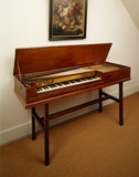 Broadwood square piano, 1774, (four/five octaves only) in the North Room (Attic)