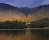 A view of Buttermere Valley, Cumbria, showing a typical Lake District scene
