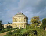 The South Front of Ickworth House in Suffolk, photographed in autumn