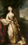 CAROLINE CONOLLY by Thomas Gainsborough, painted in 1784