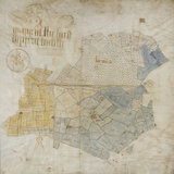 An estate map of Baddesley Clinton made in 1699 by William Adam