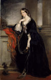 PORTRAIT OF LADY MARIAN ALFORD, English 19th c