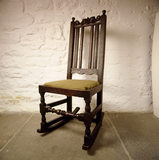 The rocking chair in George Stephenson's birthplace where he lived from 1781