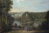 VIEW OF FOUNTAINS ABBEY by Balthasar Nebot 1768