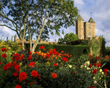 View to the Tower at Sissinghurst Castle Garden in late summer